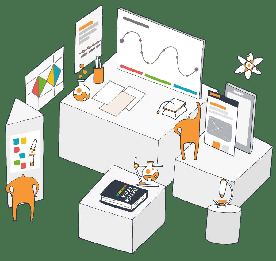 En Thinkers Co. afrontamos los retos de tu empresa diseñando soluciones tangibles con las herramientas necesarias para potenciar tu gen innovador.