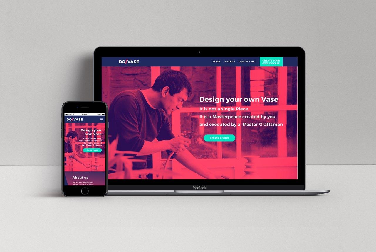 Diseño y construcción de un nuevo servicio digital y experiencia de cliente Dovase, el artesano digital.