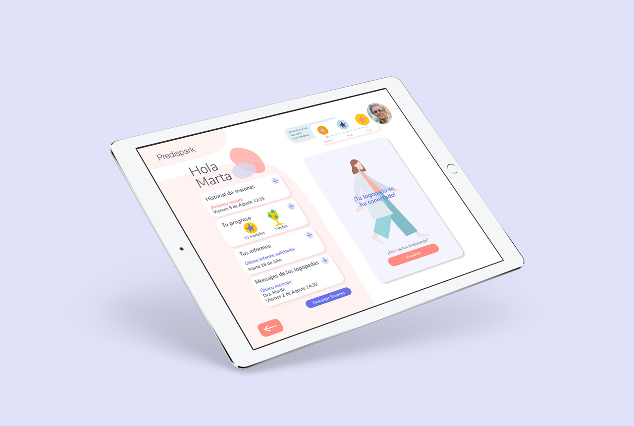 Predispark, Conceptualización y diseño de una aplicación digital para pacientes con disfagia
