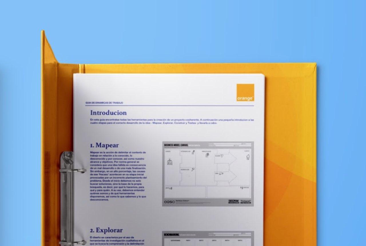 Definición de dinámicas creativas en base a la metodología de Design Thinking para Orange, en busca del trabajador creativo.