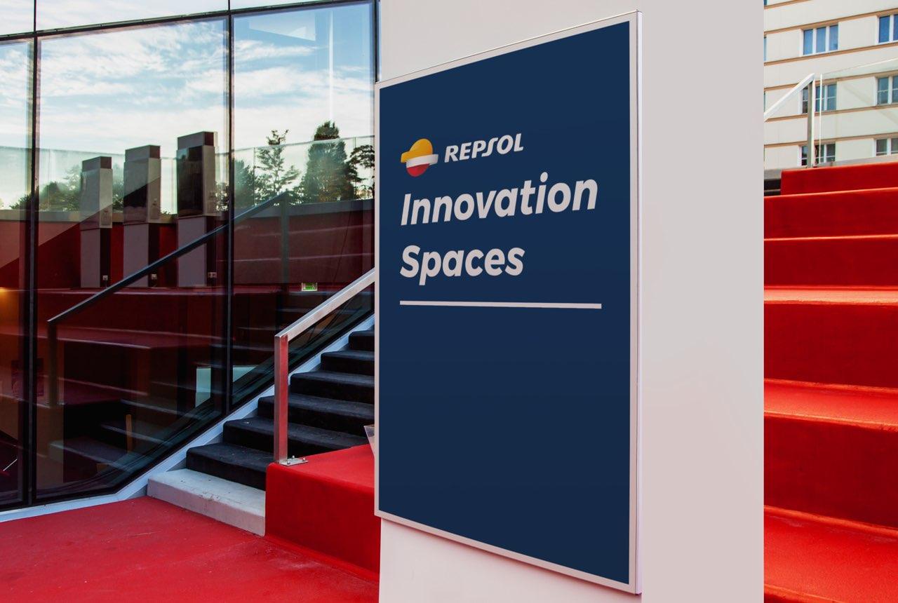 Espacios para conectar a las personas Repsol, ideación y diseño de espacios de innovación colaborativos.