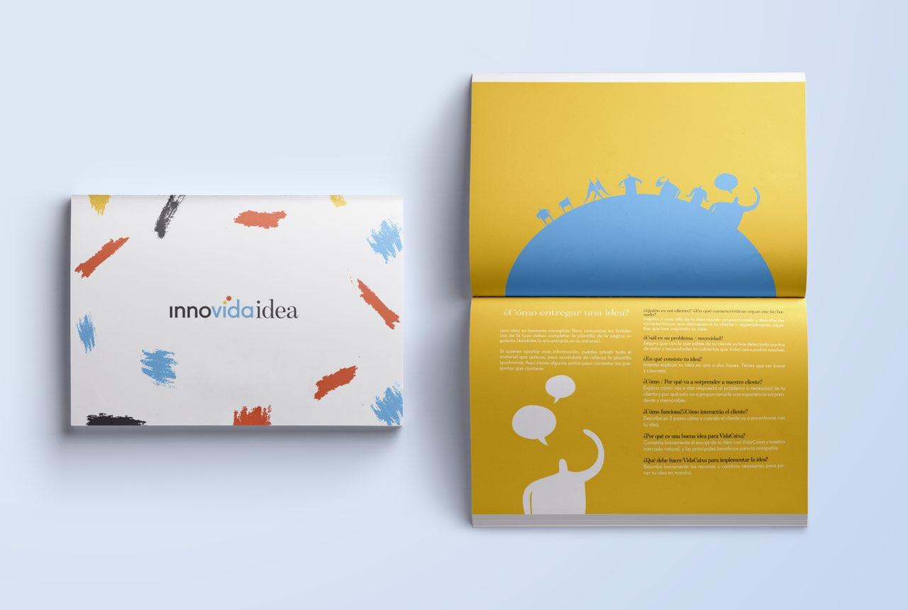 Development of creative processes using Design Thinking methodology. Innovaidea: the innovative employee's toolkit
